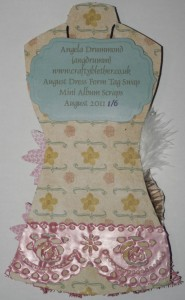 Dress Form Tag Back